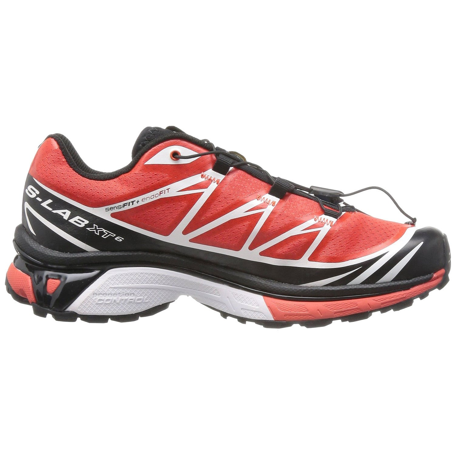 buy online ee2df 7aa7e Salomon S-Lab Xt 6 Softground Running Shoes - Black White Racing Red - -  Shoplifestyle