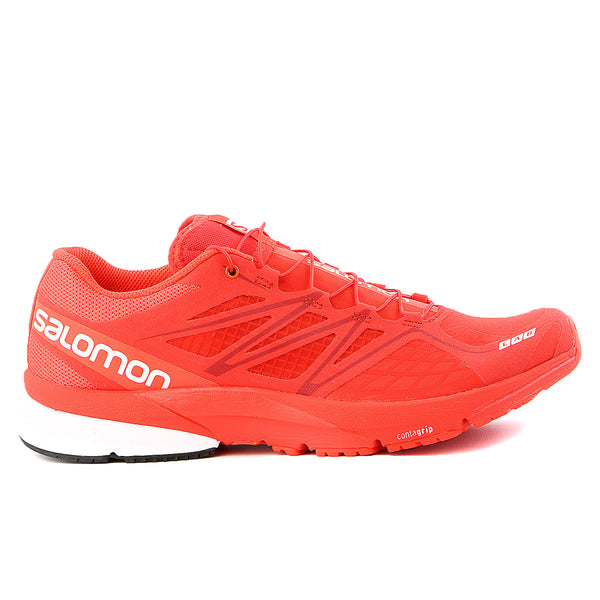 Salomon S-Lab X-Series Trail Running Shoe - Racing Red / Racing Red / White - Mens
