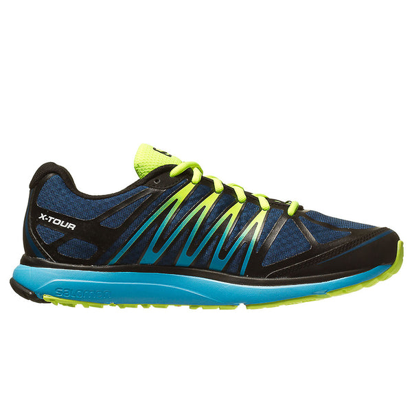 Salomon X-Tour Trail Running Shoe - Blue/Black (Mens)