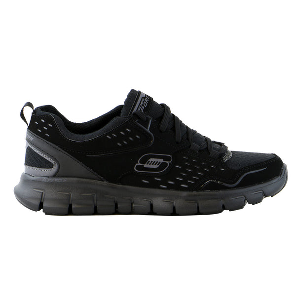 Skechers Synergy A Lister Training Sneaker Shoe - Black - Womens