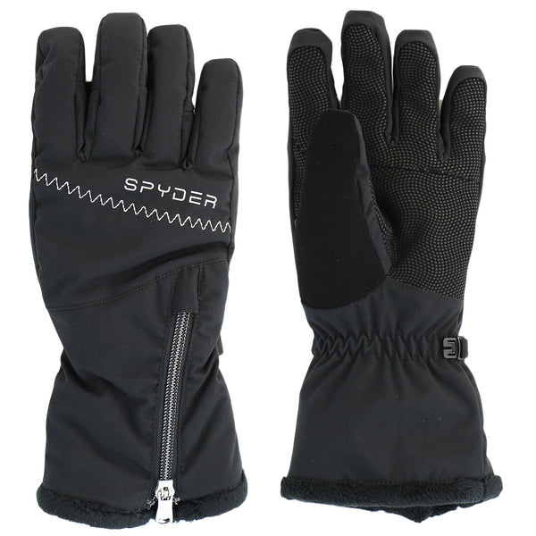 Spyder Collection Ski Glove  - Black/Silver - Womens