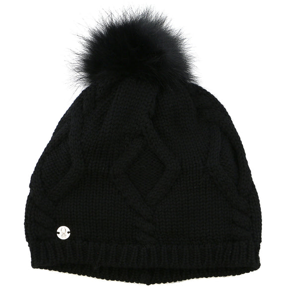 Spyder Knit Wit Hat  - Black - Womens
