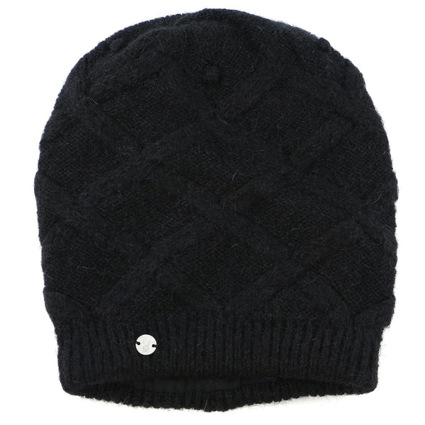 Spyder Deluxe Hat  - Black - Womens