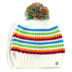 Spyder Bittersweet Hat  - White/Multy - Womens