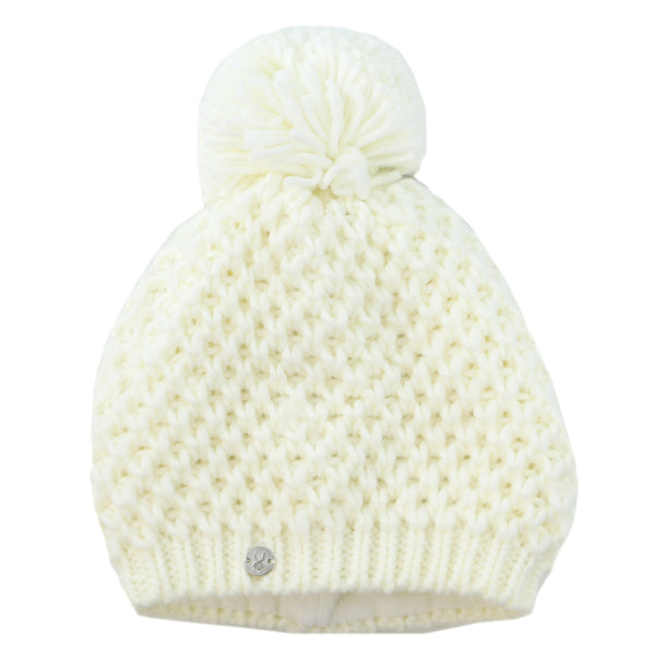 Spyder Brrr Berry Hat  - White - Girls