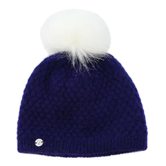 Spyder Icicle Hat  - EVE/WHT - Girls