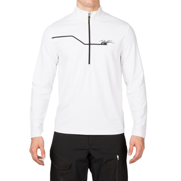 Spyder Commander Therma Stretch T-Neck L/S Top - Mens