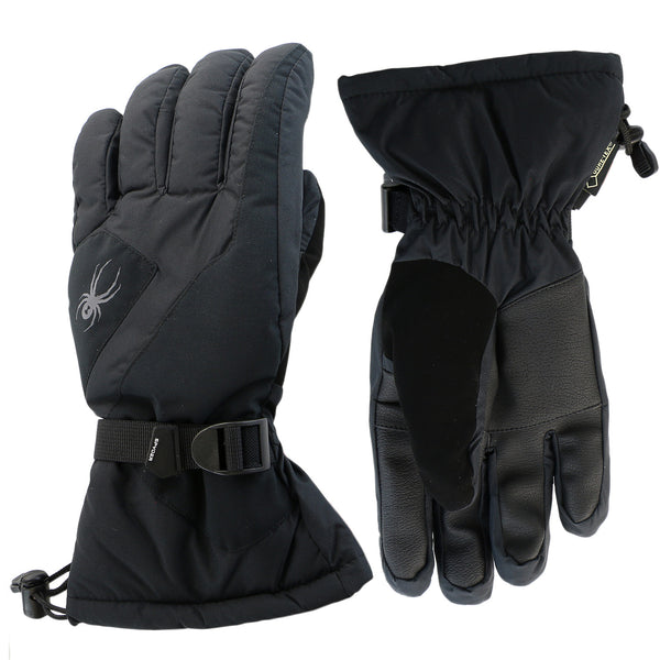 Spyder MVP Conduct Gore-Tex Ski Gloves  - Black/Black - Mens