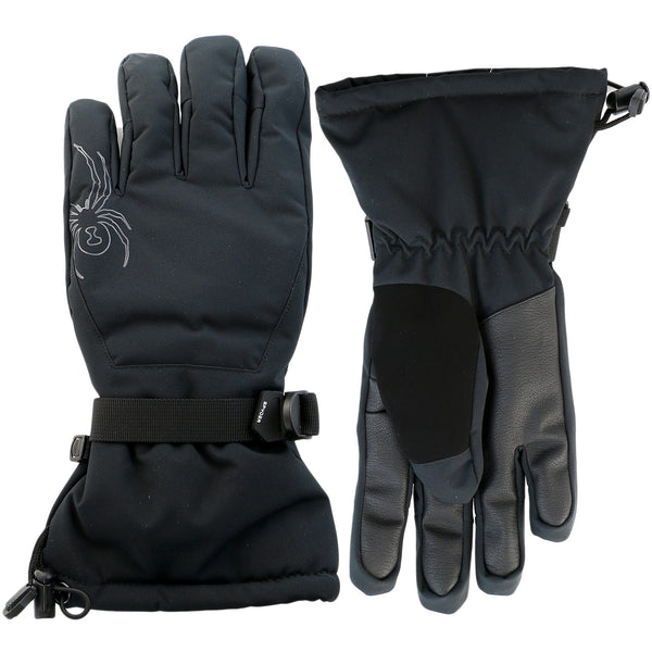 Spyder Essential Ski Glove  - Black/Black - Mens