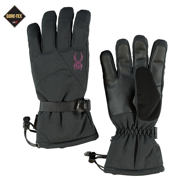Spyder Traverse Gore-Tex Gloves  - Black/Silver - Womens