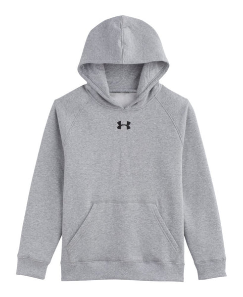Under Armour UA Every Team Fleece Hoodie  - Black/White - Boys