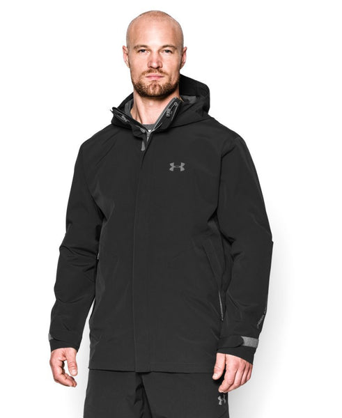 Under Armour Armourstorm&Reg; Sonar Waterproof Jacket  - Black/Storm - Mens