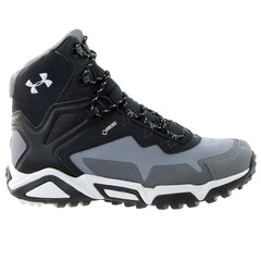 Under Armour abor Ridge Mid Hiking Boot  - Graphite/Aluminum/Black - Mens