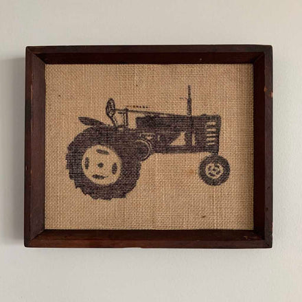 How to Make a Burlap Picture