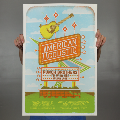Punch Brothers - 2017 Tour Poster
