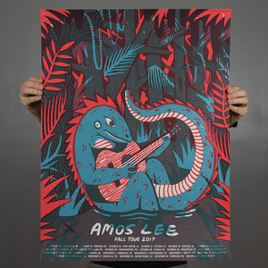 Amos Lee - Fall Tour Poster