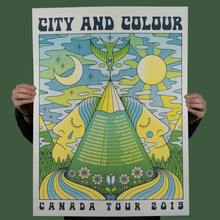 Load image into Gallery viewer, City and Colour - Canada Tour Poster 2019