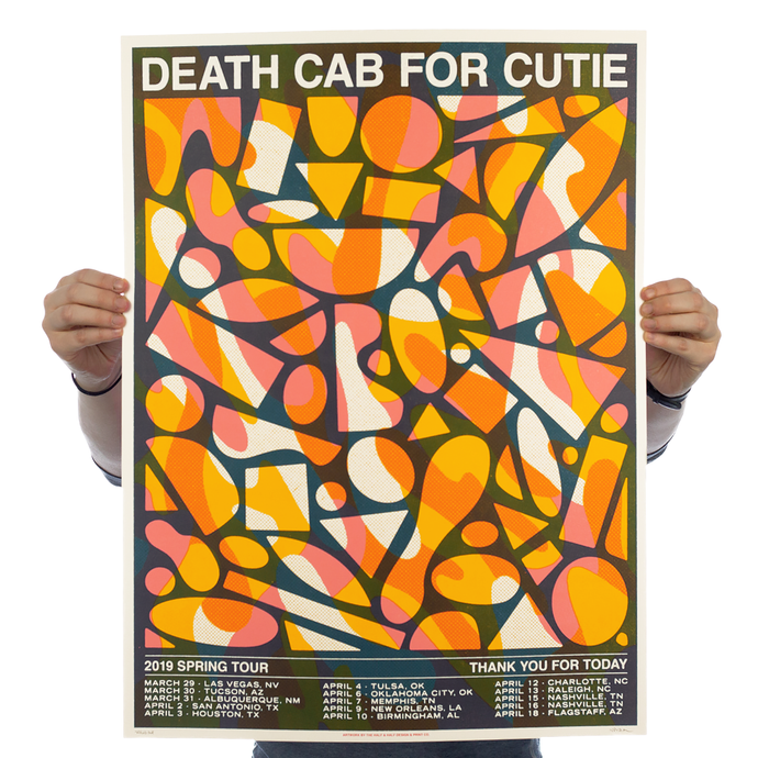 Death Cab For Cutie - Tour Orange