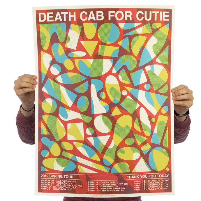 Death Cab For Cutie - Tour Red