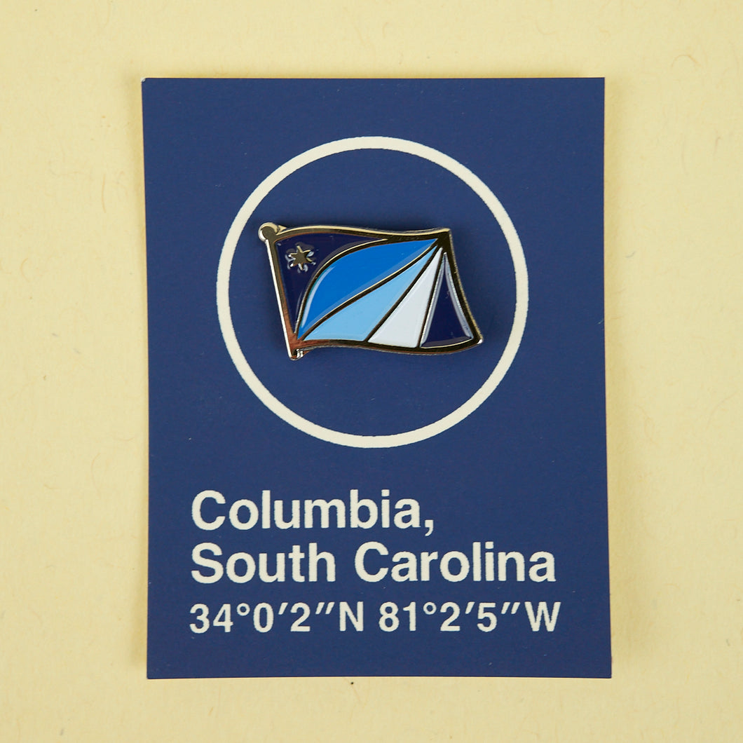 Columbia Flag - Enamel Pin