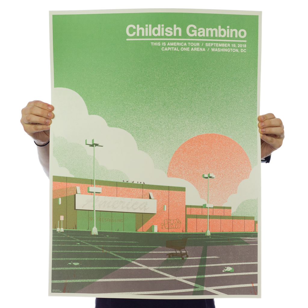 Childish Gambino - Washington, DC Variant