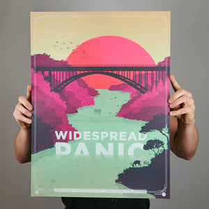 Widespread Panic - Lewsiton, NY Pink French Variant