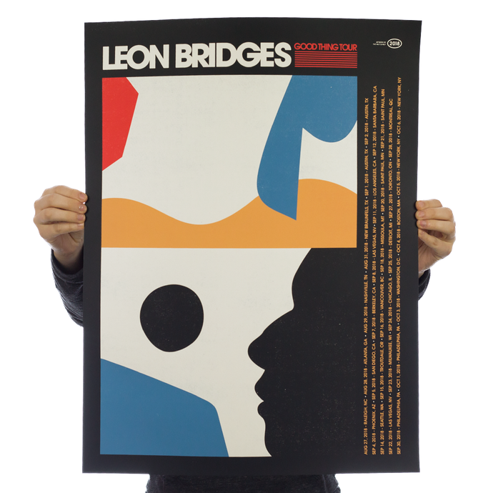 Leon Bridges - Tour Poster
