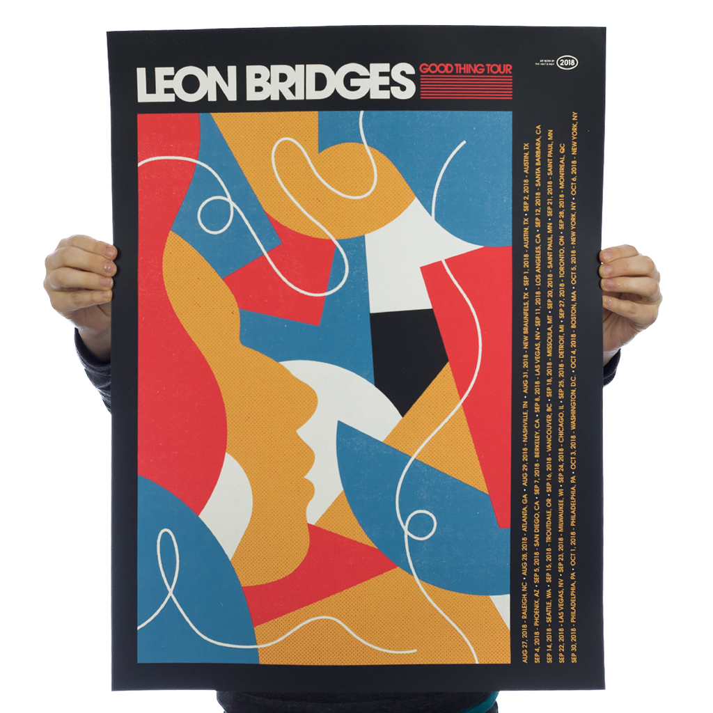 Leon Bridges - Tour Poster 2
