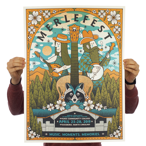 MerleFest - Official Poster