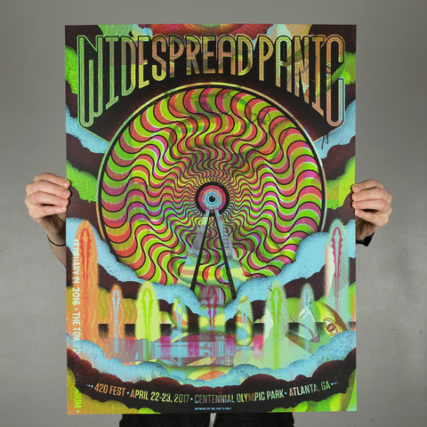Widespread Panic - 420 Fest / Test Print