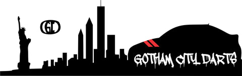 Gotham City Darts decal
