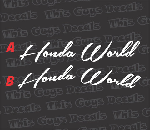 honda world banner V3