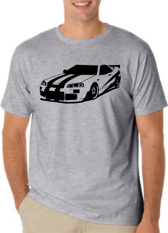 Paul walker skyline T-shirt