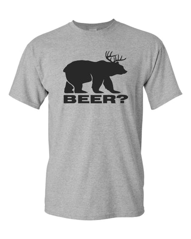 deer plus bear equals beer T-shirt