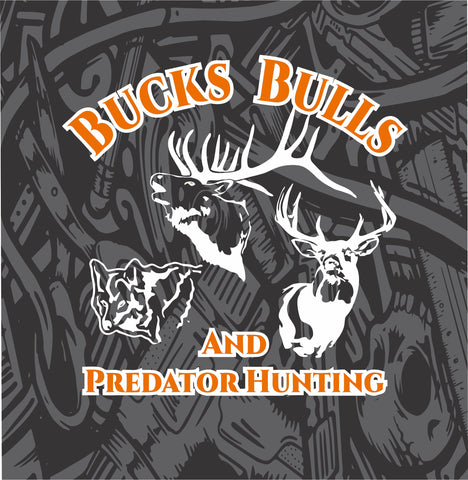 Two Color Bucks Bulls and Predator Hunting