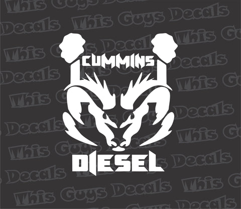 cummins diesel decal
