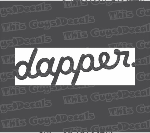 dapper slap