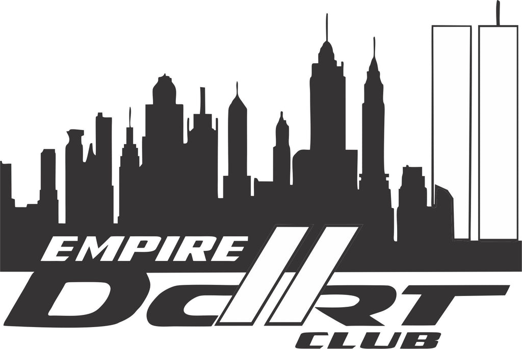 Empire darts logo #3 decal