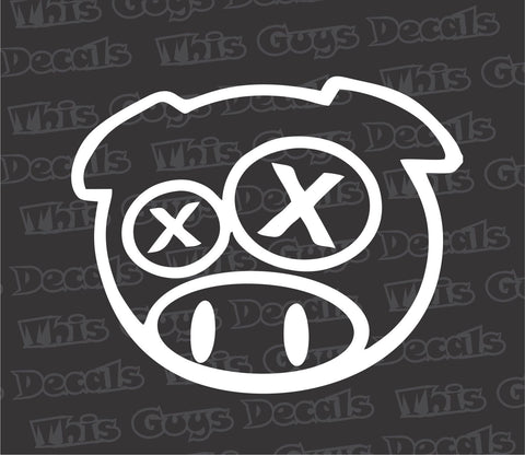 DRUNK PIG DECAL