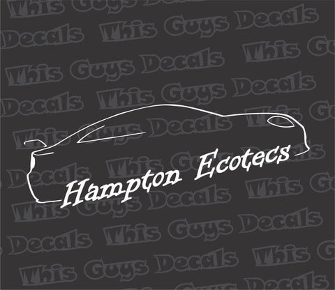 Hampton Ecotecs V4 decal