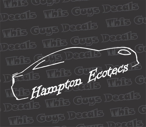 Hampton Ecotecs decal