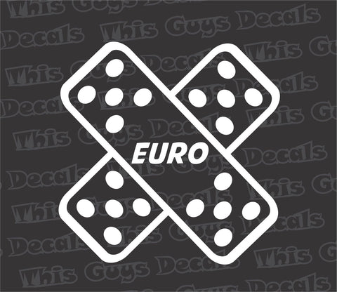 euro bandage decal