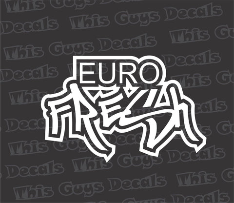 euro fresh decal