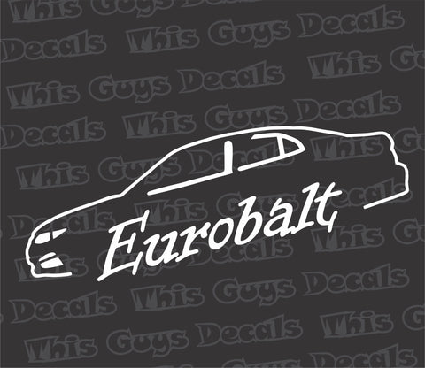Hampton Ecotecs eurobalt decal