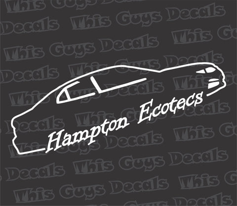 Hampton Ecotecs V2 decal