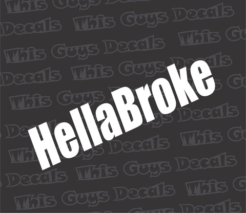 hellabroke decal