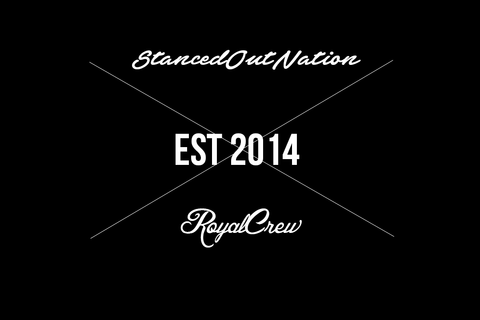 Stanced Out Nation royal crew Decal