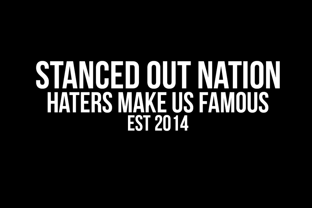 Stanced Out Nation Hater Decal