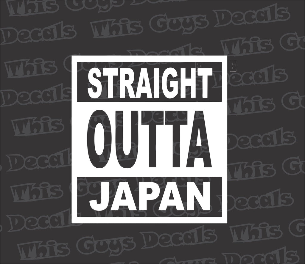 straight outta japan