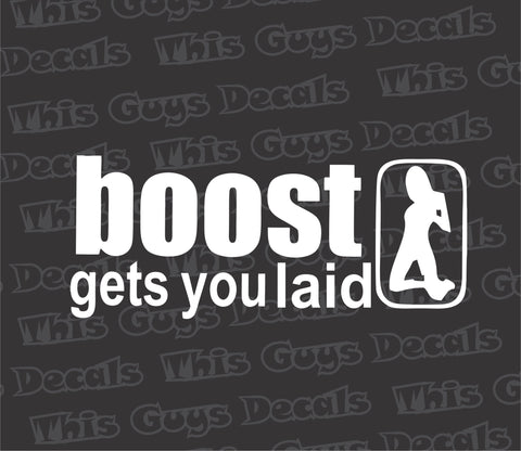 boost gets you laid